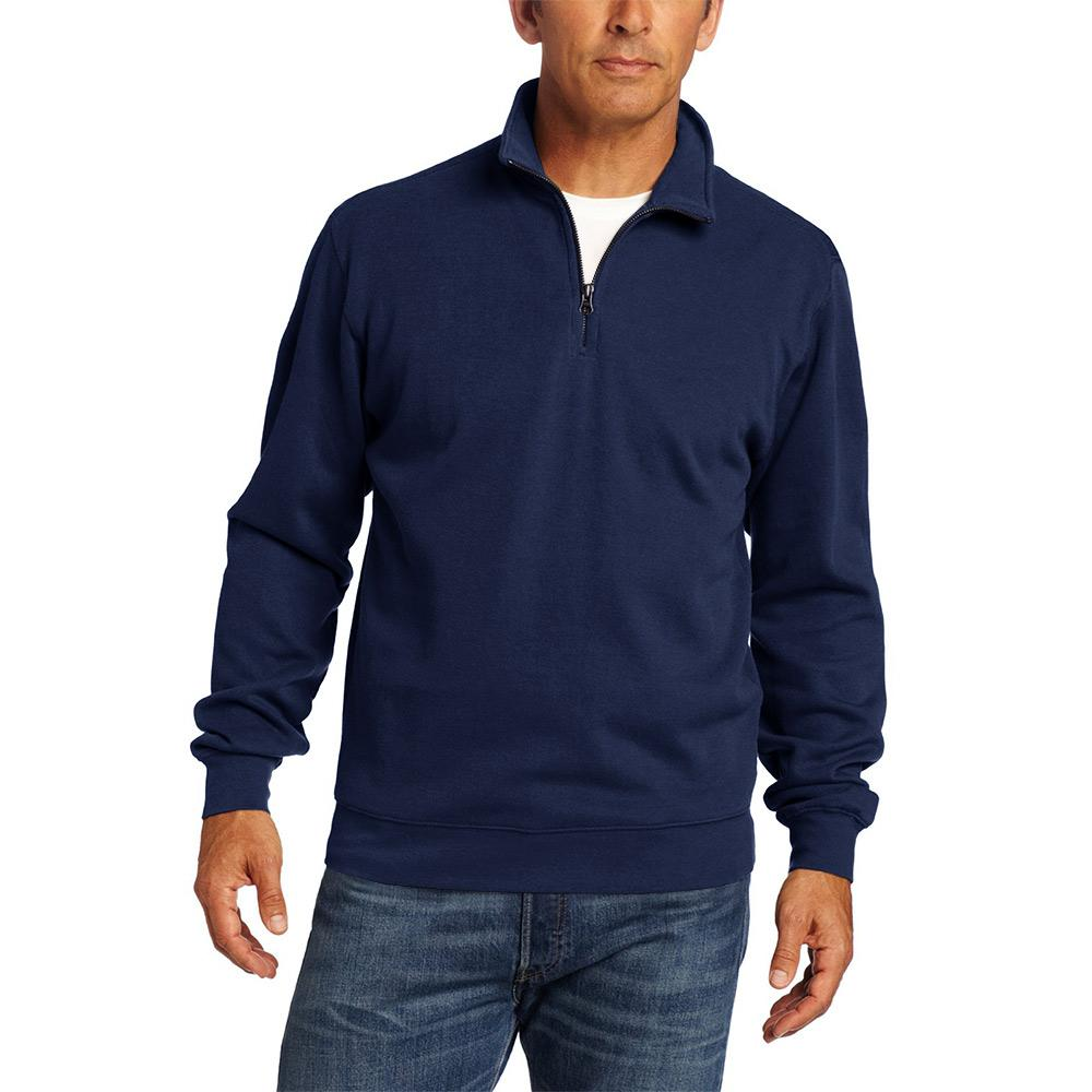 Polo Republica Homlet Zipper Neck Sweat Shirt Men's Sweat Shirt Polo Republica Swiss Navy S