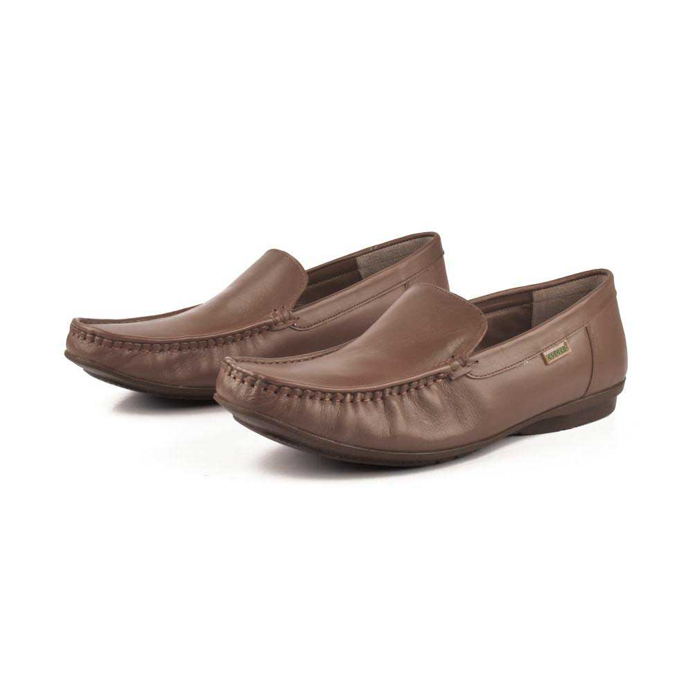 Desiderio Helsinki-032 Mocassin Men's Shoes Men's Shoes SFS Tan EUR 40