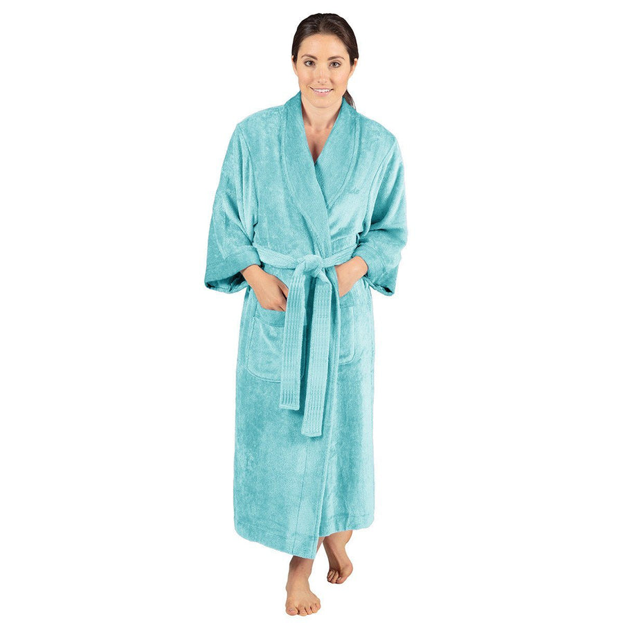 Unite Side Shawl Collar Bathrobe
