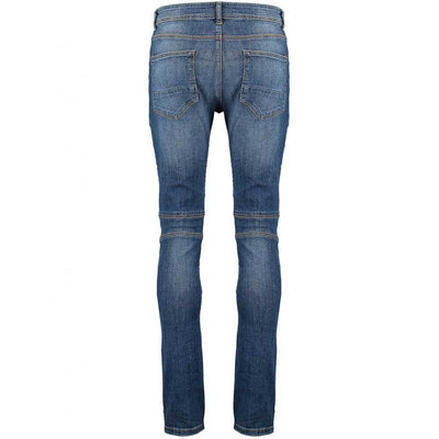 TDS Biker Detail Skinny Stretchable Denim Men's Denim SRK