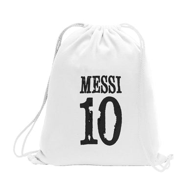 Polo Republica Messi Lovers Drawstring Bag Drawstring Bag Polo Republica White Black