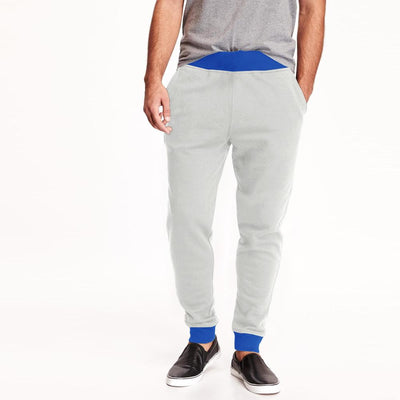 Polo Republica Men's Kophinou Sweat Pants Men's Sweat Pants Polo Republica White Blue S