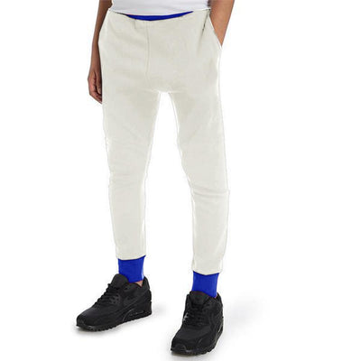 Polo Republica Kids Hoobsita Classic Sweat Pants Boy's Sweat Pants Polo Republica White Royal 2 Years