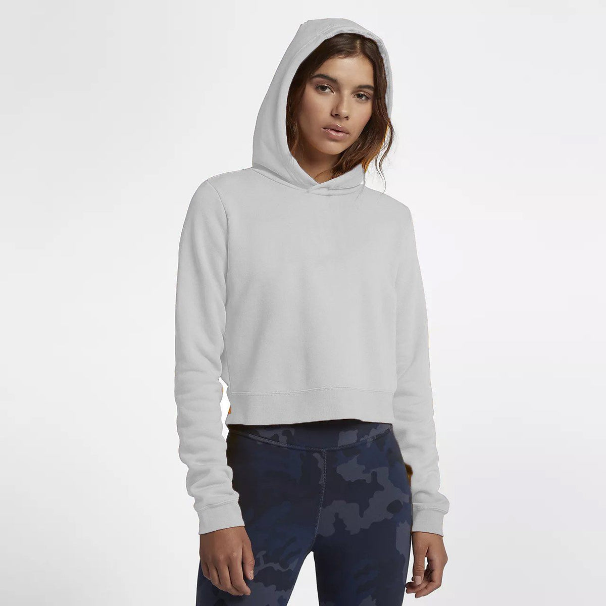 Tally Weijl Women's Minor Fault Fleece Cropped Hoodie Minor Fault SRK White 2XS