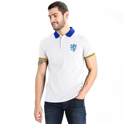 Polo Republica Leo Polo Shirt Men's Polo Shirt Polo Republica White Royal S