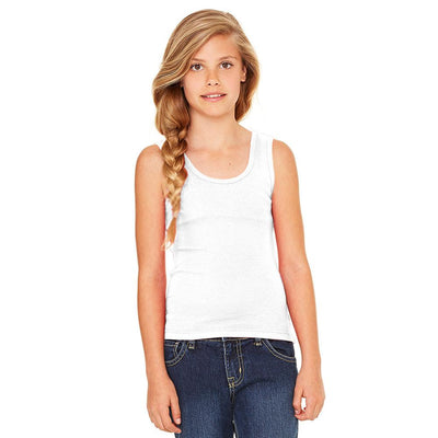 Ryazan Power Flex Girl's Tank Top Women's Tee Shirt MHJ White 12-16 Years