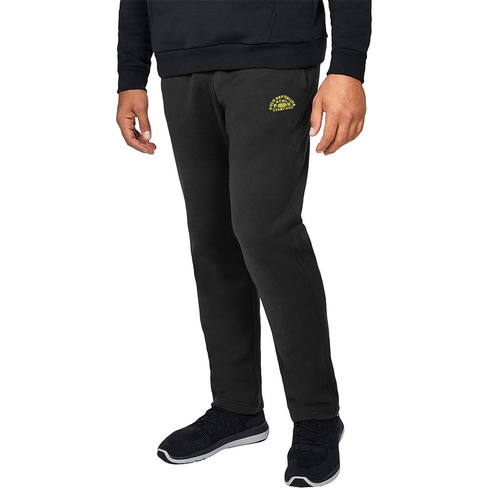 Polo Republica 1985 Champions Fleece Trousers Men's Sweat Pants Polo Republica Black Yellow S