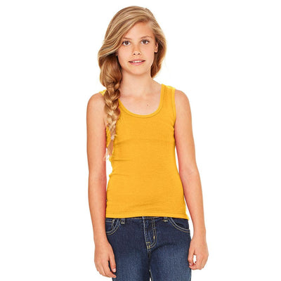 Ryazan Power Flex Girl's Tank Top Women's Tee Shirt MHJ Yellow 12-16 Years