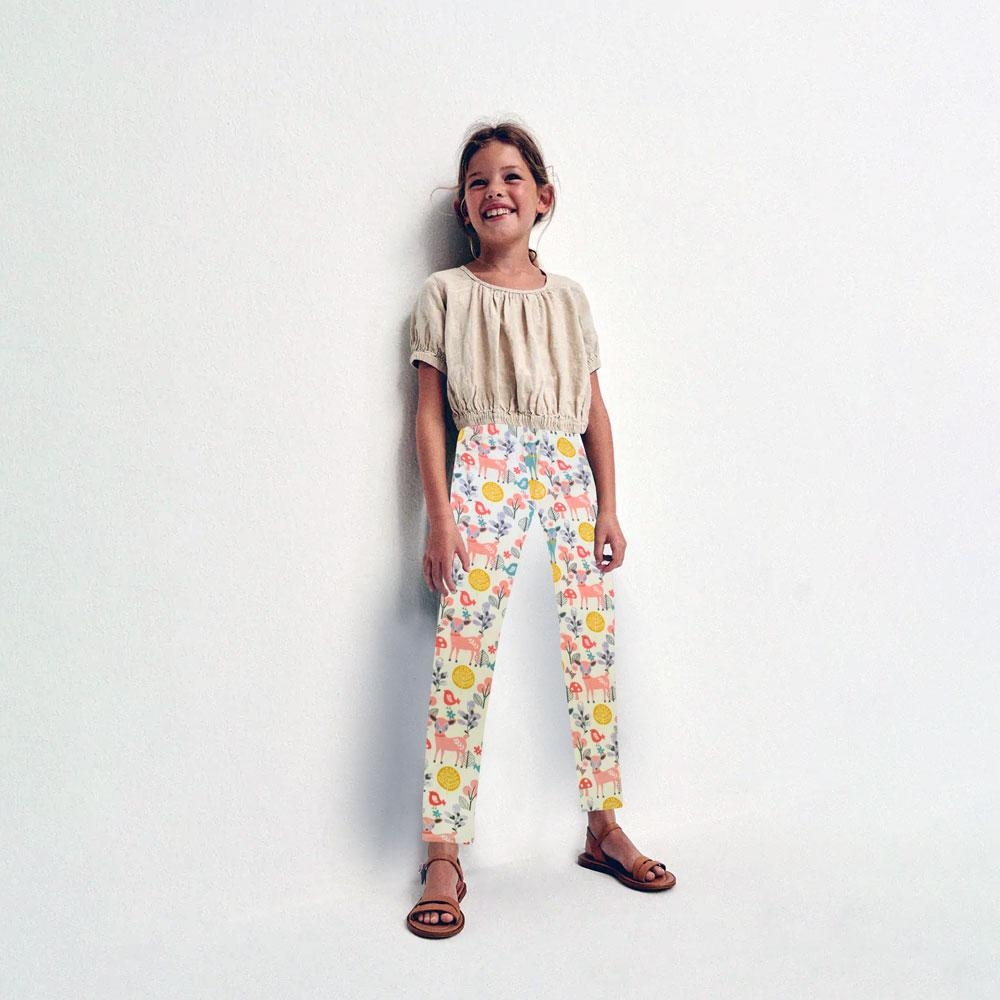 JTP Girl's Woodland Mouse Trouser Girl's Trousers SRK 2T