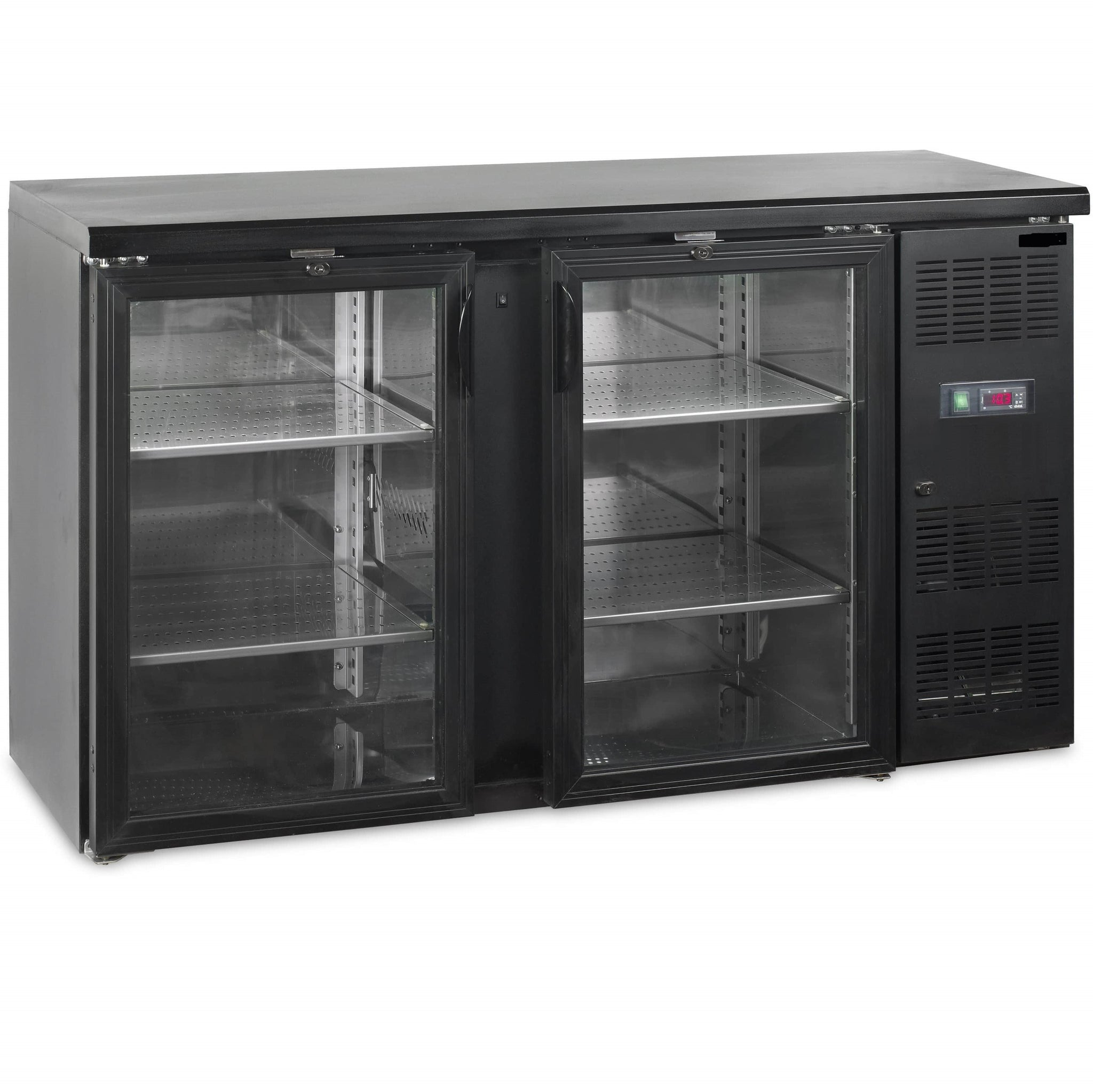 Tefcold backbar dobbelt CBC210G-P heavy duty