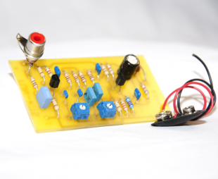 EFK 2003 Two Transistor Pre-Amplifier