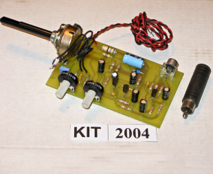 EFK 2004 Three Transistor Pre-Amplifier