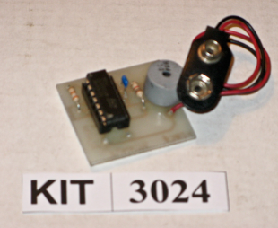 EFK 3024 Low Voltage Alarm