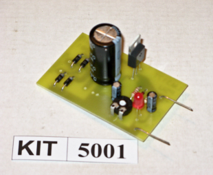 EFK 5001 Adjustable LM317T Power Supply
