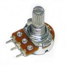 16MM LOGARITHMIC POTENTIOMETER