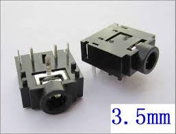 3.5MM PCB MOUNT STEREO JACK FEMALE 5 PIN