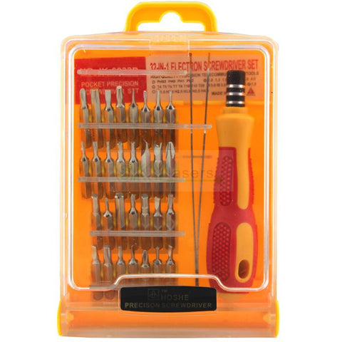 32 Pc ASSORTED SCREW DRIVER SET
