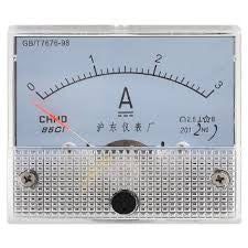 PANEL METER 3A DC 62mmXH55mm