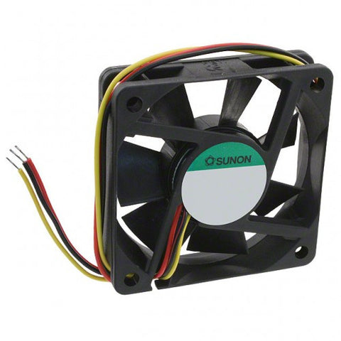 12Vdc 80mm X 25mm 0.8W 3 WIRE COOLING FAN