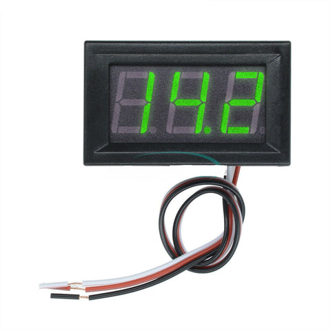 GREEN DIGITAL VOLTMETER DC 0-30V