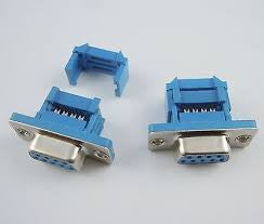 15 WAY D SUB IDC TYPE CONNECTOR