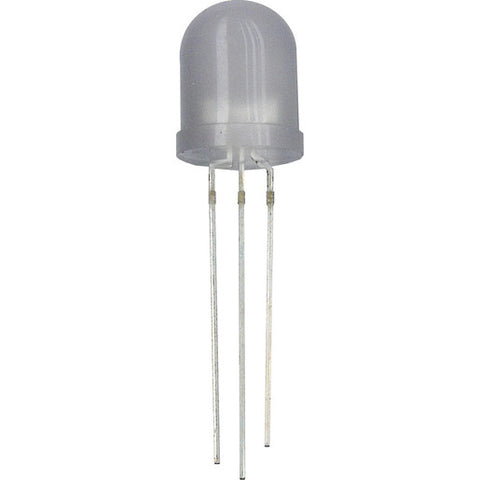 10mm BI-COLOUR 3 LEG LED