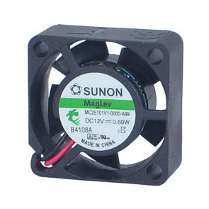 12Vdc 25mm X 10mm 0.69W COOLING FAN