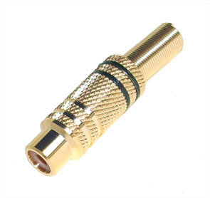 RCA FEMALE / SOCKET GOLD PLATED