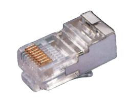 RJ 45 SHEILDED TELEPHONE PLUG