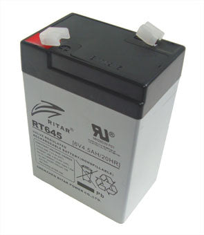 BATTERY SEALED LEAD ACID 6V 4.5A