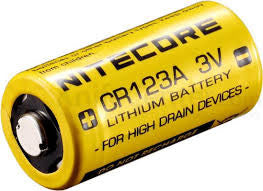 LITHIUM BATTERY CYLINDRICAL TYPE CR123A