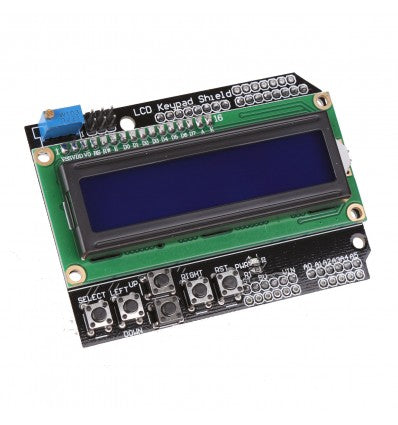 16x2 LCD SHIELD WITH KEYPAD