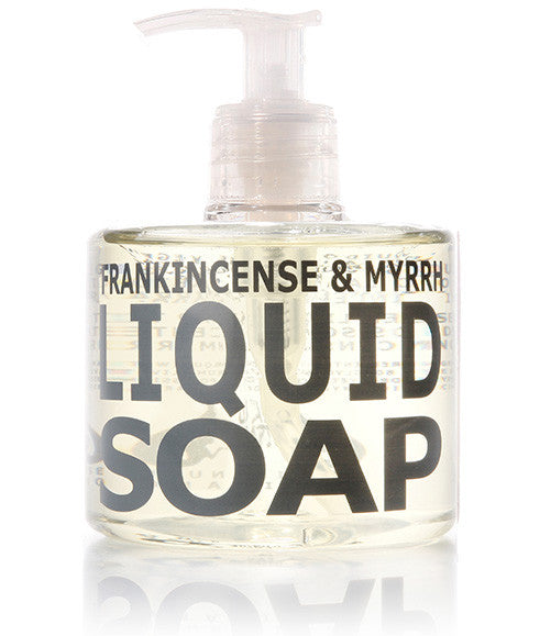 Frankincense & Myrrh Liquid Soap, 300ml