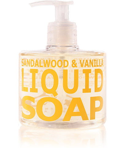 Sandalwood & Vanilla Liquid Soap, 300ml