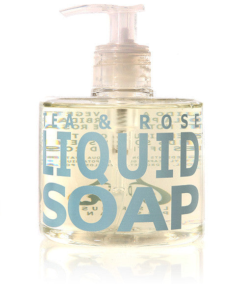 Tea & Rose Liquid Soap, 300ml