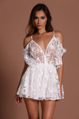 Circa Playsuit - White