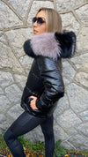 PARIS PADDED PUFFER JACKET IN BLACK /PRE-ORDER ITEM