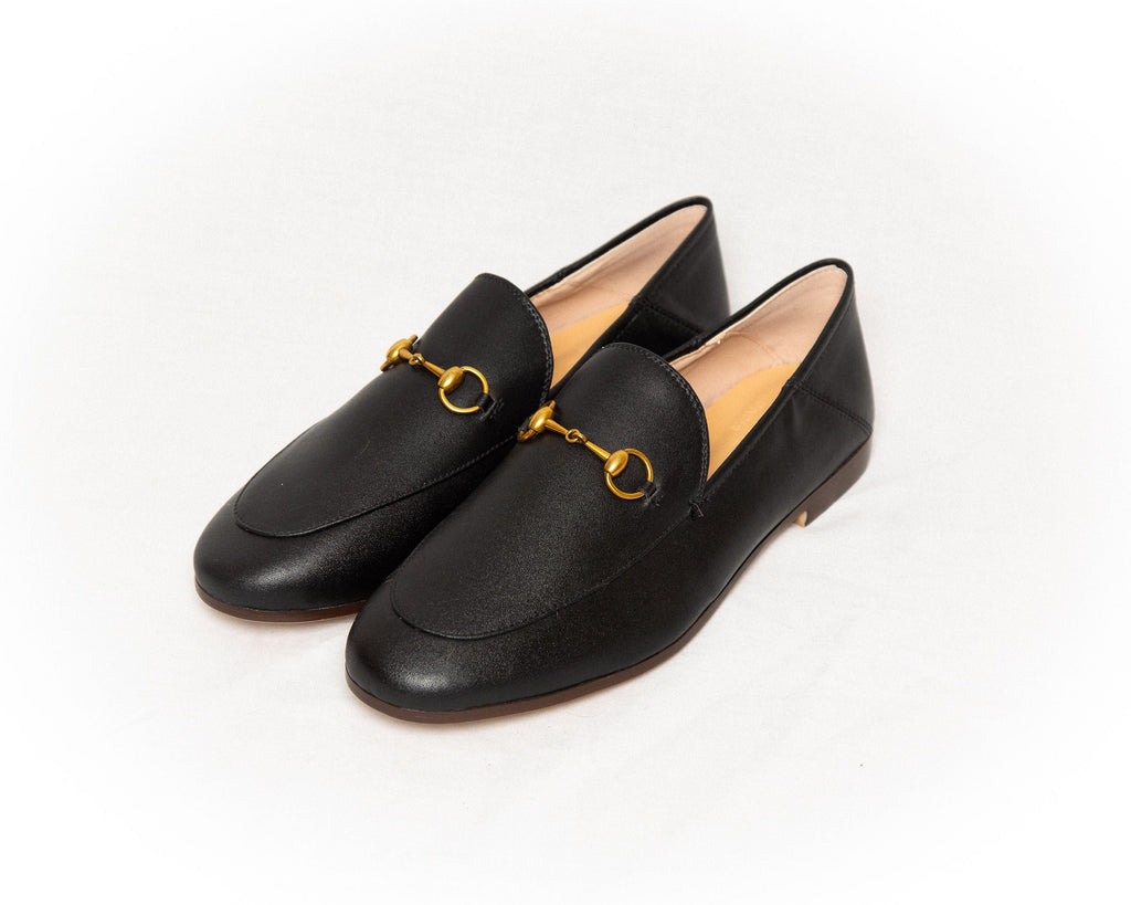 THE LEATHER SHOE - Classic Black