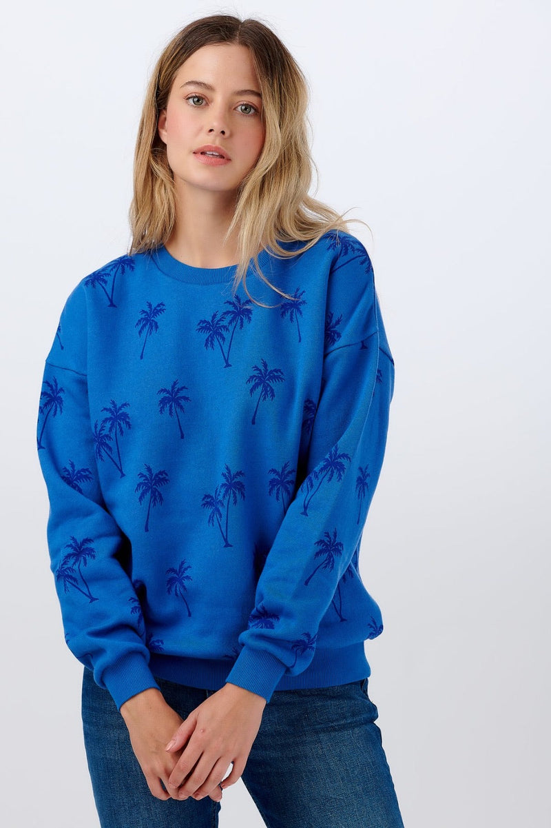 BINKY SUPER SOFT PALM TREE SWEATER