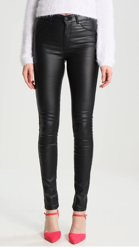 DR DENIM PLENTY JEANS - BLACK METAL