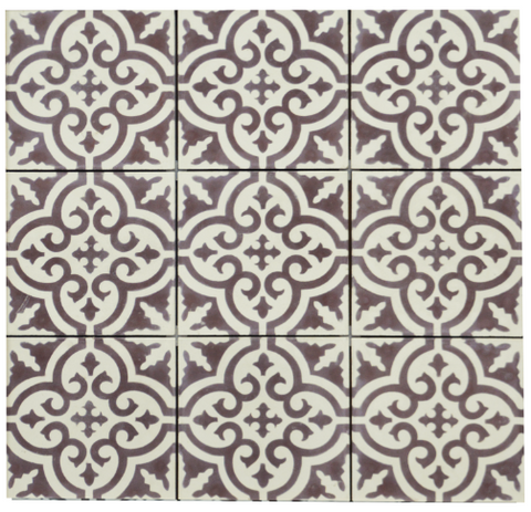Encaustic Tile- Arabesque