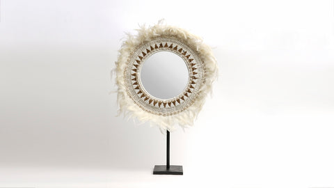 Juju Shell Mirror on Stand