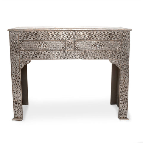 Ornate Alpaka Console Table
