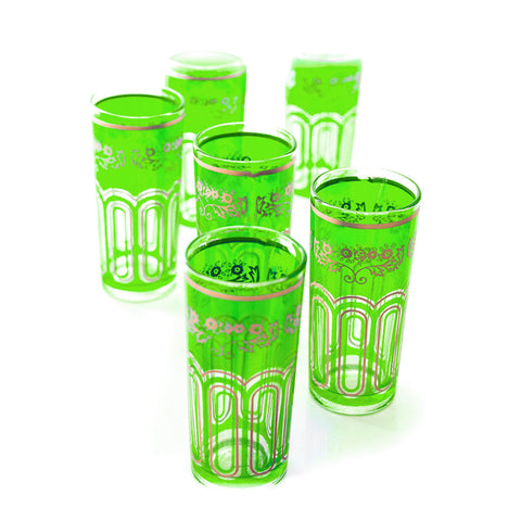 Tall Tea Glasses - set of 6