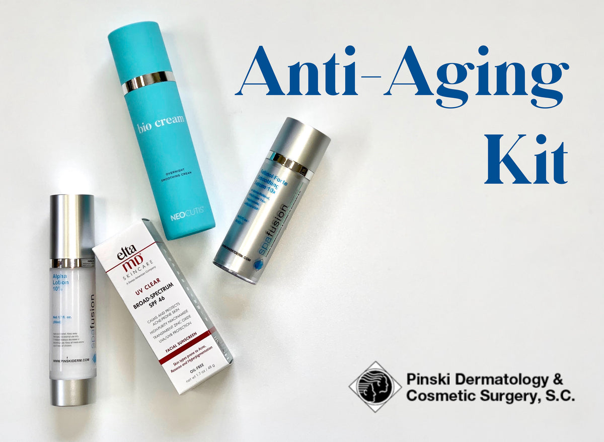 Pinski Dermatology Anti-Aging Kit