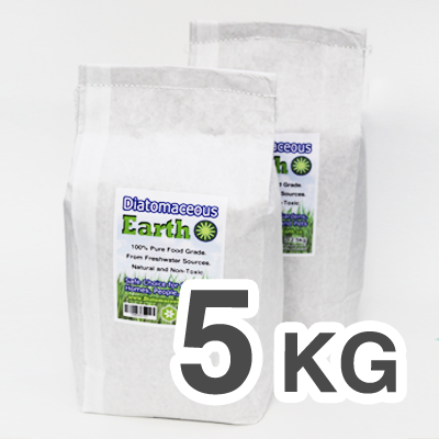 Food Grade Diatomaceous Earth 5 Kilograms (11 lb)