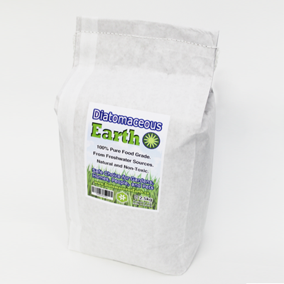 Food Grade Diatomaceous Earth 2.5 Kilograms (5.5 lbs)