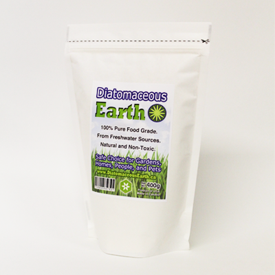 Food Grade Diatomaceous Earth 400 Grams (0.9 lbs)