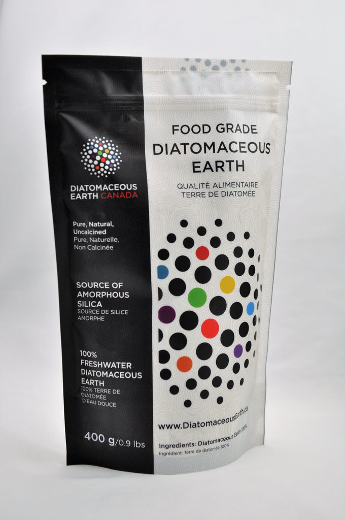 Food Grade Diatomaceous Earth 400 g / 0.9 lbs