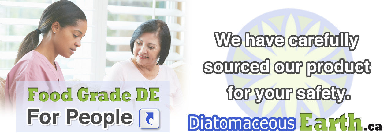 Diatomaceous Earth for people